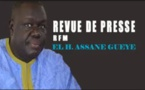 Revue de Presse Rfm du samedi 24 février 2018 avec El Hadji Assane Guèye