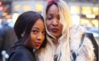 Photos :Viviane et sa fille Zeyna en toute complicité à Paris