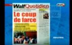 Revue de Presse WalfTv du vendredi 20 avril 2018 en images