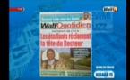 Revue de Presse WalfTv du samedi 19 mai 2018 en images
