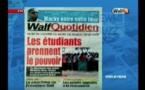 Revue de Presse WalfTv du vendredi 25 mai 2018 en images