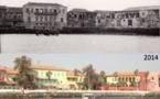 Carte Postale - Gorée 1937-2014 (rediffusion) : 77 ans séparent ces deux photos.