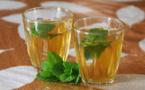 Thé à la menthe simple