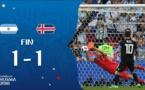 Mondial 2018 : l'Islande tient en échec l'Argentine (1-1)