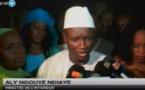 Aly Ngouille Ndiaye répond aux préoccupations des députés de l'opposition