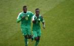 Photos : Idrissa Gana Guèye félicité par Mbaye Niang