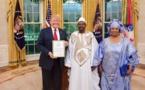 Photos : Présentation des lettres de créance de l'ambassadeur Dr. Momar Diop à Washington DC
