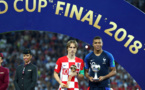 Luka Modric (Croatie) élu meilleur joueur de la Coupe du monde