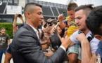 Photos – Arrivée de Cristiano Ronaldo à Turin