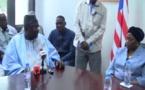 Parlement CEDEAO : Moustapha Cissé Lo hôte des autorités libériennes
