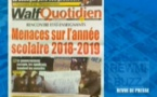 Revue de Presse WalfTv du samedi 22 septembre 2018 en images