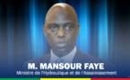 Mansour Faye lance le programme d'assainissement des eaux usées à Touba