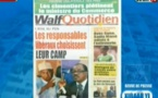 Revue de Presse WalfTv du mardi 16 octobre 2018 en images