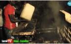 Kaolack :  un incendie ravagé 6 cantines au marché Guedj
