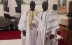 Photos : Ousmane Thiongane en toute complicité avec Khadim Samb