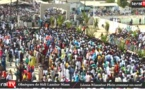 Vidéo : Une foule immense a accompagné Sidy Lamine Niasse à la demeure de la vérité à Léona Niassène