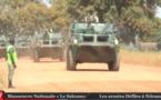 Voici le défilé mettant fin à la manœuvre nationales des armées.