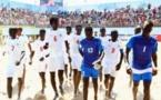 """Beach Soccer : Les """"Lions"""" écrasent la Libye (10-1) et accèdent en demi-finales"""