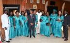 """Photos : Abdoulaye Thiam, le président de l'ANPS* avec ses 9 """"femmes"""", regardez"""