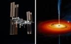 On a observé un trou noir depuis l'ISS, voici les résultats