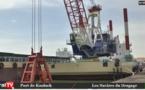 Vidéo : Premières images des navires pour le dragage du port de Kaolack