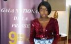 5 Photos : Khadija, la femme de Pape Sidy Fall éblouit le Gala de la convention des jeunes reporters