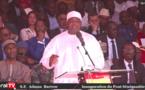"""VIDEO - Le Président Adama Barrow à Farafégné : """"L'inauguration de ce pont est un jour de fête pour la Sénégambie"""""""