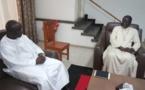 Idrissa Seck reçu par l'archevêque de Dakar Mgr Benjamin Ndiaye