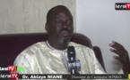 Vidéo -Tribune de campagne: Dr. Ablaye Niane dévoile les axes majeurs du programme de Sonko sur Leral Tv