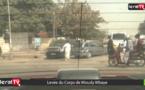 VIDEO : Le cortège funèbre de Mously Mbaye en partance pour Touba