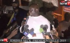 VIDEO - Idrissa Seck chambre Macky Sall à Fatick