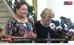 "VIDEO - Rigoberto Menchu, prix Nobel de la Paix : ""Le PR Macky Sall est une personne très aimable"""