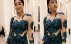 07 Photos : Ndèye Astou Sall revient avec une robe d'anthologie, regardez