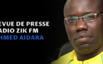 Revue de presse Zik fm avec Ahmed Aïdara du 22 mars 2019