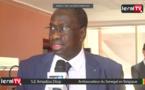 """VIDEO - S. E Amadou Diop : """"La vision du PR Macky Sall est largement partagée en Europe..."""""""