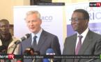 """VIDEO - Bruno Le Maire : """"Le Sénégal est l'exemple de l'Afrique qui réussit..."""""""