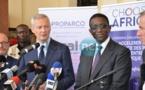 """PHOTOS - Lancement du programme """"Choose Africa"""", par Bruno Le Maire et Amadou Bâ, ministre de l'Economie et des Finances de la France et du Sénégal"""