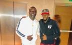 Photos : Henri Camara pose avec Akon