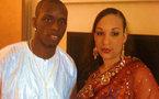 Photo : Henri Camara et sa femme Ornella en tenue traditionnelle