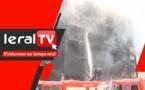 Avenue Blaise Diagne: Voici le film de l'incendie de l'immeuble Scrupuldos