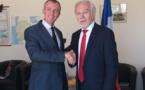 Olivier Serot Almeras et Gérard Senac ont signé le 14 mai 2019, une convention de partenariat.