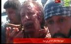 Exclusive Vidéo : Les dernières minutes de Kadhafi en vie