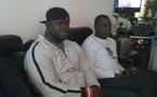 [PHOTO] Eumeu Séne rend visite à Alioune Petit Mbaye