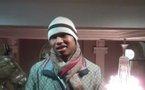 Photo : El Hadji Diouf en mode hiver