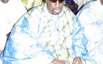 Abdoulaye Makhtar dans les habits du Grand Serigne de Dakar