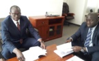 Passation de service à l'Aeme: Saër Diop succède à Biram Faye