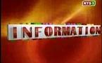 [Vidéo] Journal Télévisé de 13 heures (Rts1)