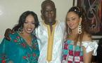 Djly Créations épouse Nadège : La photo du couple du mois à Dakar, Oumou Sow invitée spéciale du mariage
