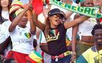 Photo : La femme de El Hadji Diouf, Valérie supportant son mari dans les tribunes d'un stade...