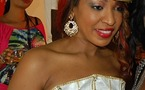 Photo : Viviane Ndour en mode traditionelle